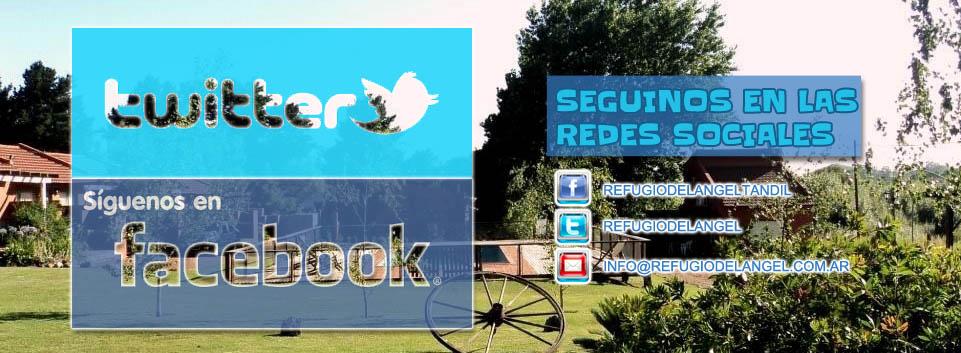 Refugio Del Angel - Redes Sociales